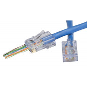 Platinum Tools® EZ-RJ45® CAT6+ Connectors [100010C]