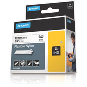 "Dymo® Rhino 3/4"" White Flexible Nylon Labels [18489]"
