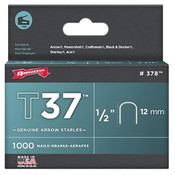 "Arrow® T37 Staples 1/2"" (12mm) [378]"