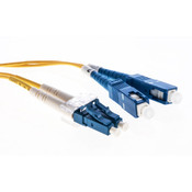 Cleerline SSF™ OS2 LC/UPC-SC/UPC Patch Cable 3.0mm Riser 1m [3DOS2LCSC01m-UPC]