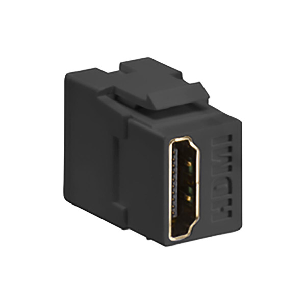 Leviton® QuickPort HDMI Feedthru Black [40834-00E]