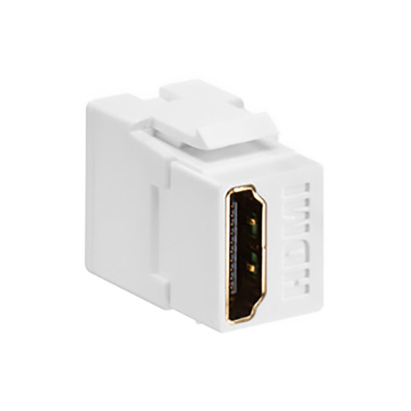 Leviton® QuickPort HDMI Feedthru White [40834-00W]