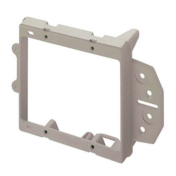On-Q® 2 Gang Nail On Low Voltage Mounting Bracket for New Construction [AC1009-02]