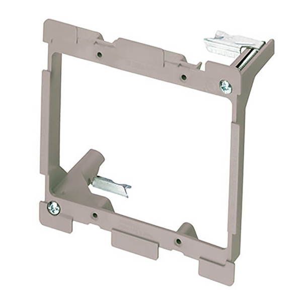 On-Q® 2 Gang Low Voltage Mounting Bracket for Retrofit [AC1010-02]
