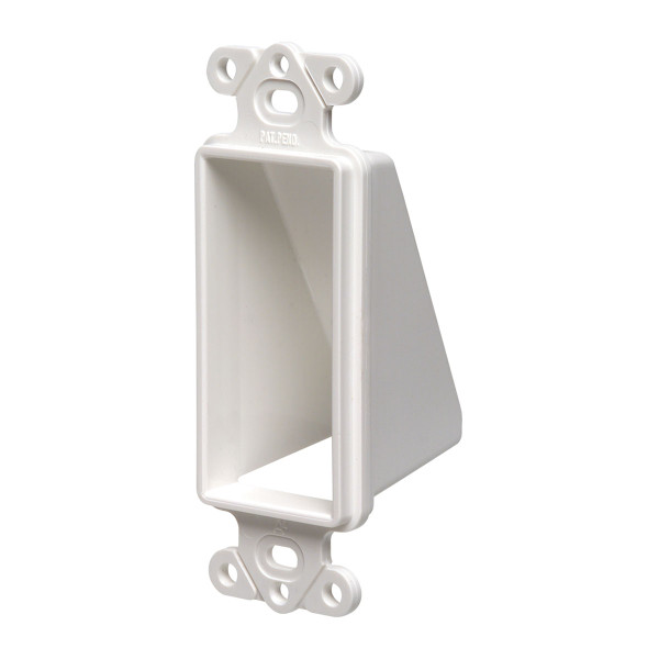Arlington® Reversible Cable Entrance Plate 1 Gang White [CED1]