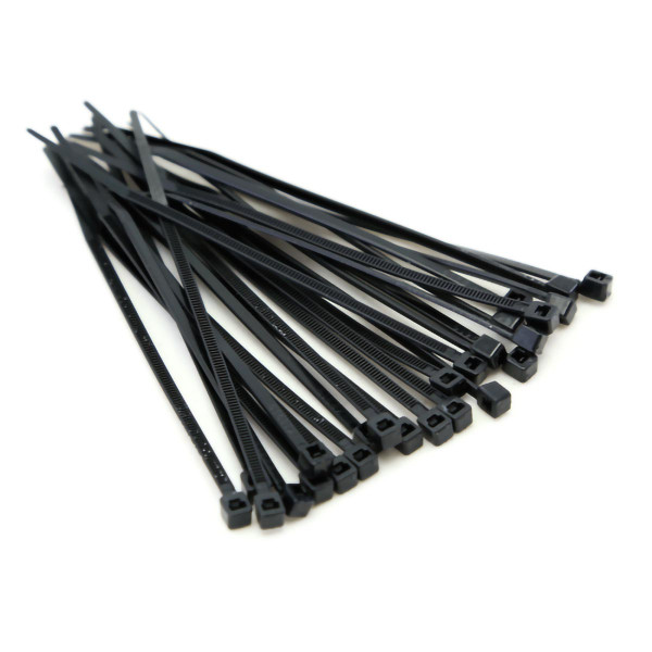 "CIS® Cable Tie Black 4"" 18lb [CIS250520.100]"