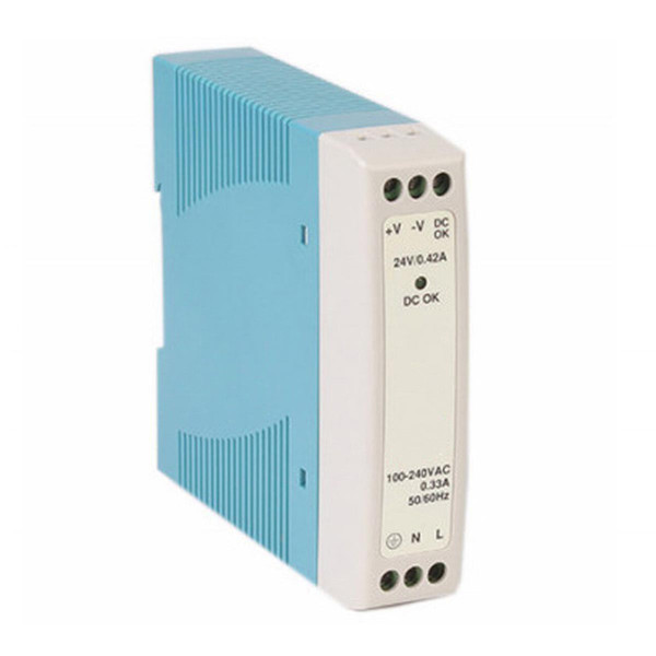 CIS® AC to DC 24V 10W Industrial DIN rail power supply [MD-1024]