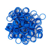 Planet Waves™ Color Rings-BC/ST/ZM Blue [NRINGS100B]