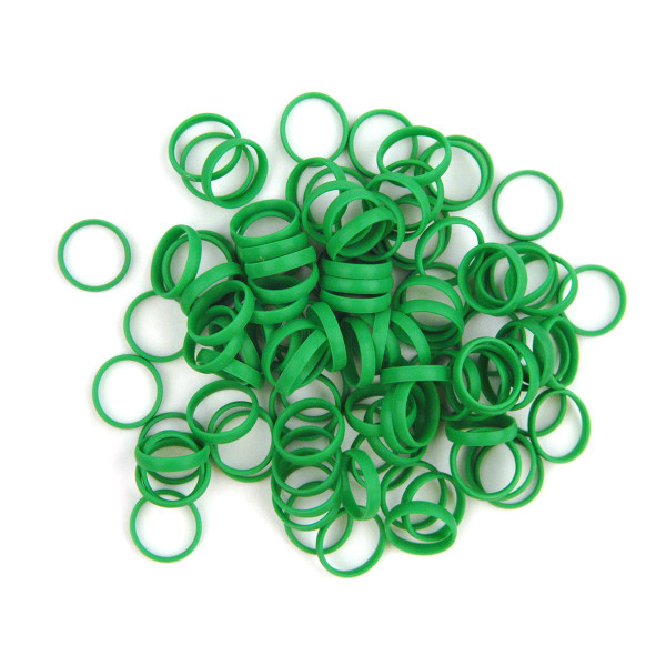 Planet Waves™ Color Rings-BC/ST/ZM Green [NRINGS100G]