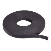 "Rip-Tie® Wrap 1/2"" x 75ft Black [Q-75-1RL-BK]"