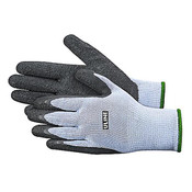 "disposable gloves, powder free gloves, PPE, personal protective equipment, 8""-9"" gloves, Thin latex coating, knit cotton liner"